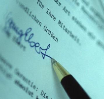 Оформление договора факторинга