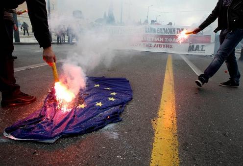 Рушится вера в Евросоюз